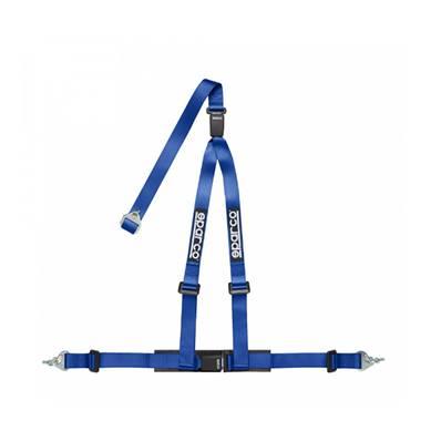 SPARCO blue harness 3 attachment