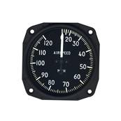 'Airspeed indicator 30-120 mph 3-1/