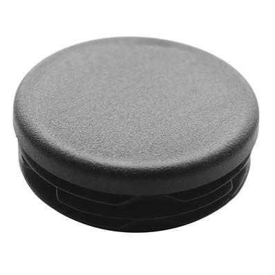 Cap for tube diameter 50 mm, black